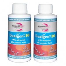 DualGen (Миноксидил 10% + Азелаиновая кислота 5%)  2 месяца