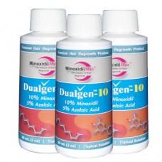 DualGen (Миноксидил 10% + Азелаиновая кислота 5%)  3 месяца